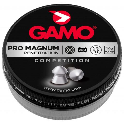 boite de 250 plombs pro magnum gamo