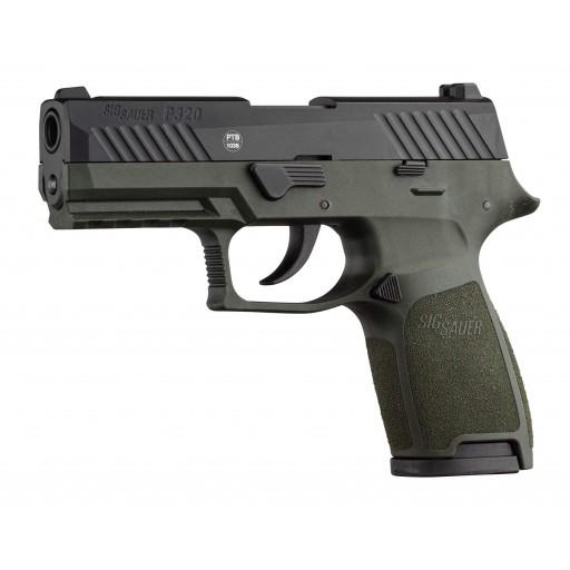 sig sauer p320 9mm pak en od green