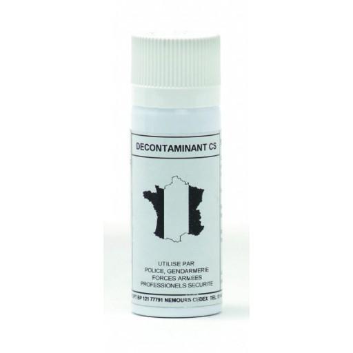 Spray décontaminant