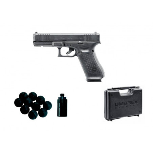 glock 17 gen 5 + malette umarex + adaptateur gomm cogn